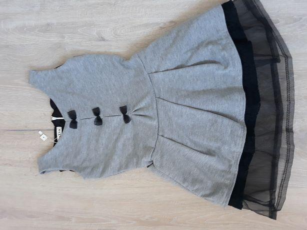 Sukienka z falbanami Nowa