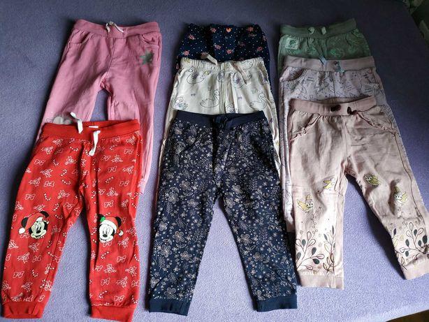 Spodnie desowe dziewczęce r. 92