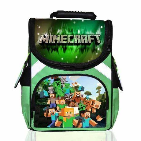 Портфель Майнкрафт, Лайк школьный каркасный рюкзак ортопедический!