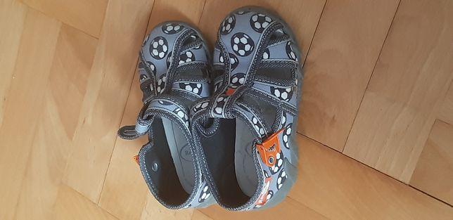 Buty Pantofle dla dziecka chlopca renbut 23 skorzana profilowa wkladka