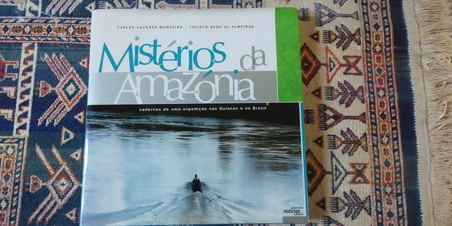 Livro Mistérios da Amazónia