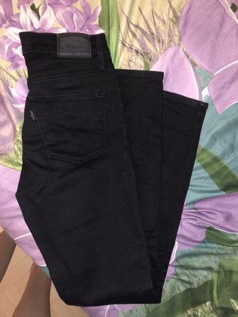 Spodnie Levis czarne skinny