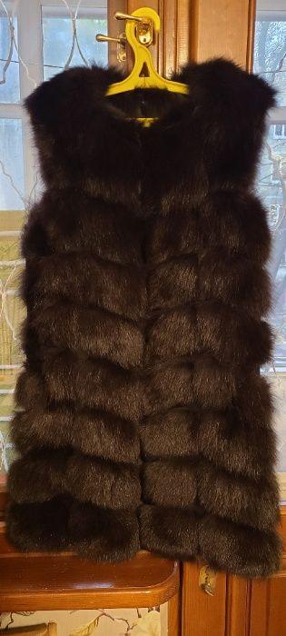 Меховая жилетка из песца Одесса - изображение 1