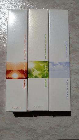 Perfumy avon Summer white, Bright, Sunset 50 ml