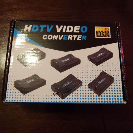 Conversor SCART para HDMI