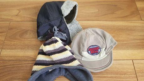 Zestaw czapek 9 mcy
