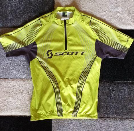 Koszulka rowerowa Scott Junior rozmiar L (12-13 lat)Oryginał