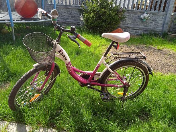 Rower koła 20 dla dziewczynki