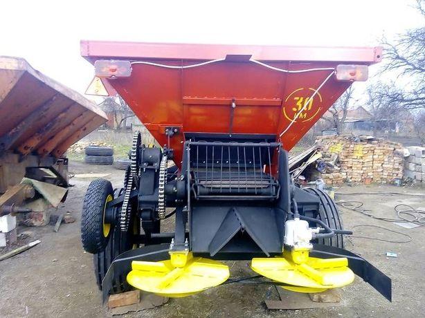 В наличии Машина для внесения минеральных удобрений и извести РМГ-4