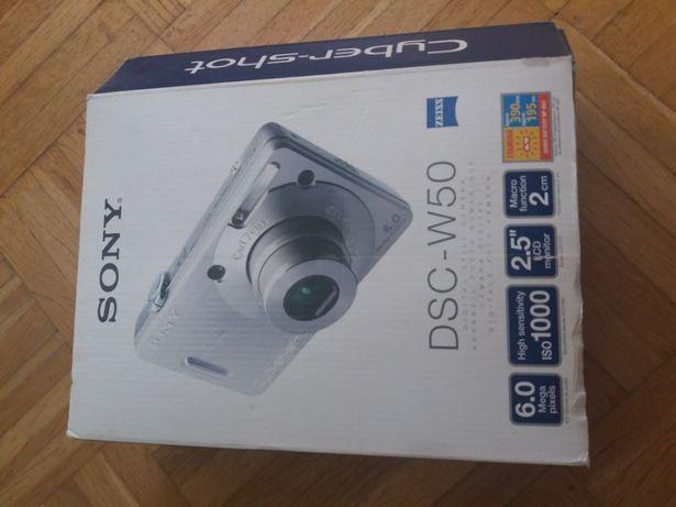 Aparat fotograficzny Cyber Shot Sony DSC-W50