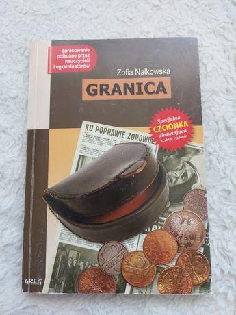 Granica, Zofia Nałkowska