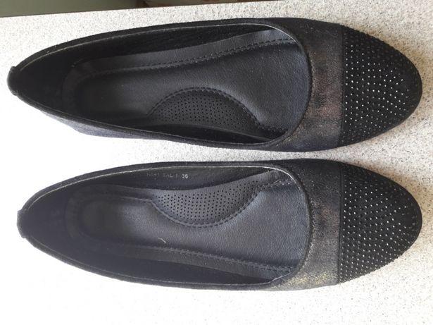 Baleriny buty r.36