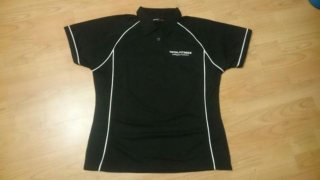 10 sztuk - Koszulka damska polo fitness instructor rozmiar L