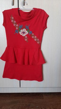 Платье -вышиванка для девочки