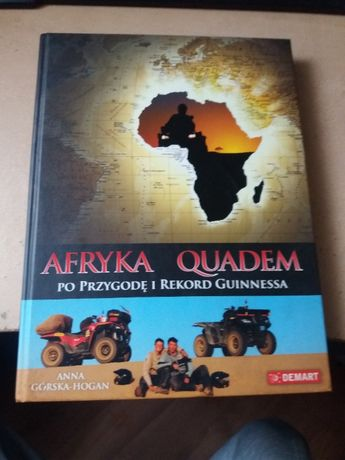 Ksiażka- Afryka Quadem