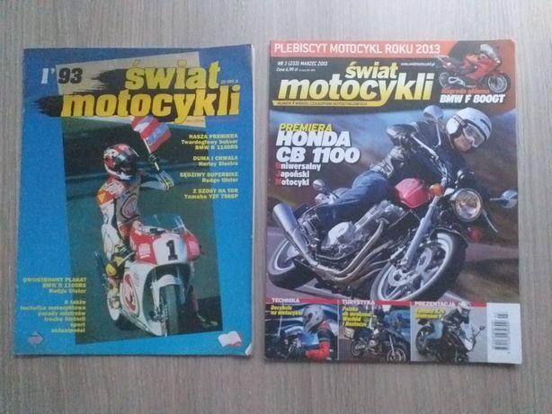 Sprzedam dużą kolekcję Świata motocykli od 1993r - 2013r