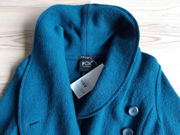 Sweter płaszcz 100% wełna r. 36 NOWY