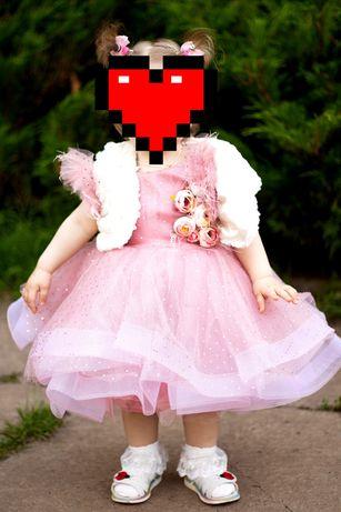 Красивое, нарядное платье на годик,годовастие,год девочке