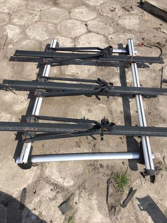 Bagażnik dachowy, 3 uchwyty rowerowe Citroen C4Grand Picasso