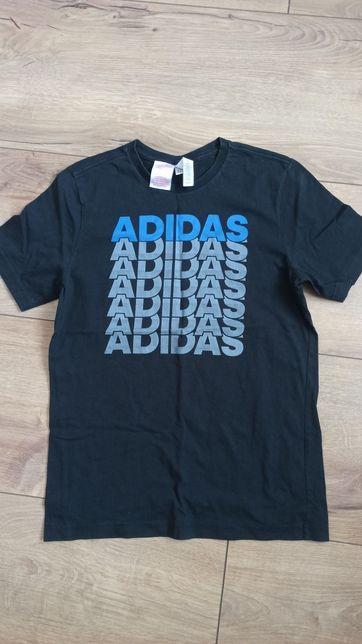 Koszulka sportowa damska adidas S M L czarna t-shirt