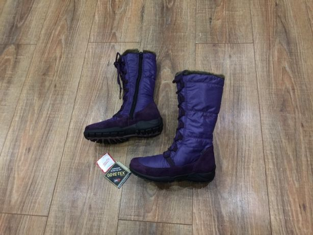Сапожки зимние на девочку черевики термо Superfit Gore-Tex р.36(23.5см