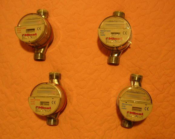 Licznik wody 1/2 cala wodomierz radiowy - 1 szt - idealny na działkę