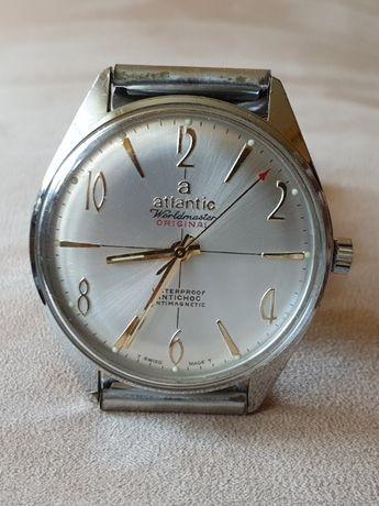 Oryginalny zegarek męski Atlantic worldmaster stan B.dobry