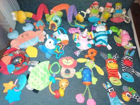 Фирменные игрушки моей доченьки, до 1-1,6 года