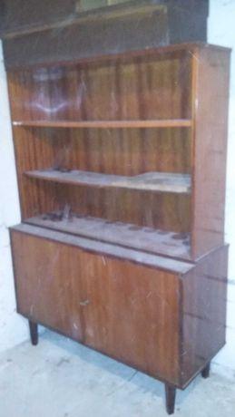 Biblioteczka-regał z prl-u