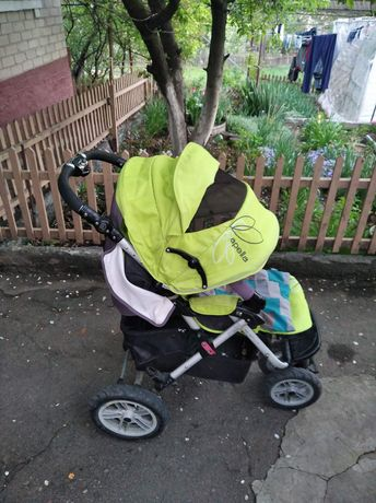 Детская коляска трехколесная