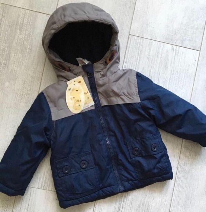 Куртка на флісі 6-9 місяців Чоп - изображение 1