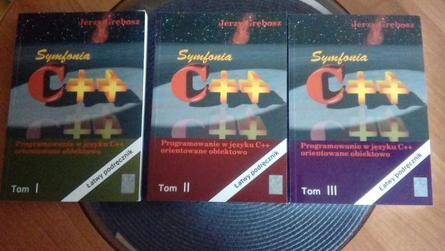 """Komplet 3 tomów - """"Programowanie w języku C++ orientowane obiektowo"""""""