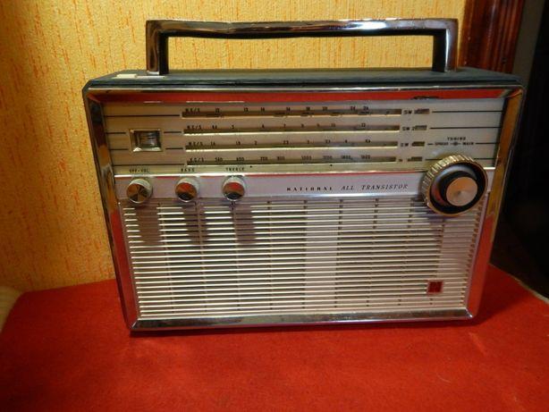 Радиоприёмник National Panasonic T-100 Рбочий.