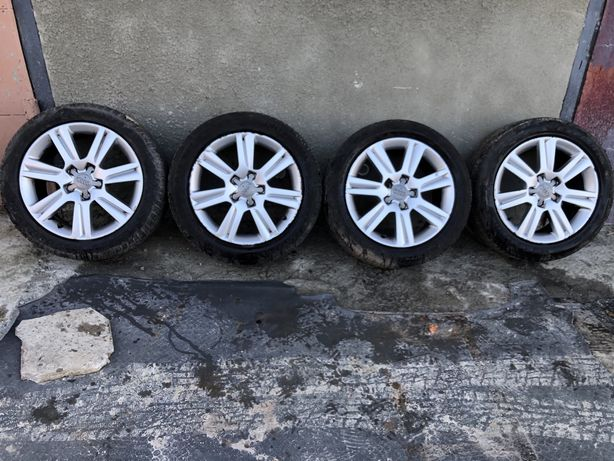 Audi A4 B8 діски диски r17 розборка авторозборка титани
