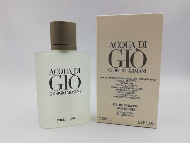 Perfumy Giorgio ARMANI Aqua di GIO 100ml Tester Wyprzedaż