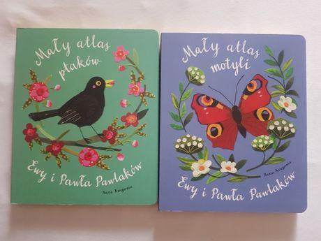 Mały atlas motyli , Mały atlas ptaków Ewy i Pawła Pawlaków