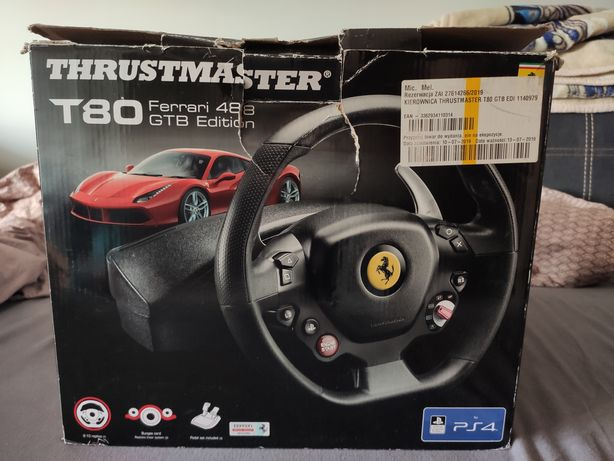 Kierownica thrustmaster t80 gwarancja PC PS4