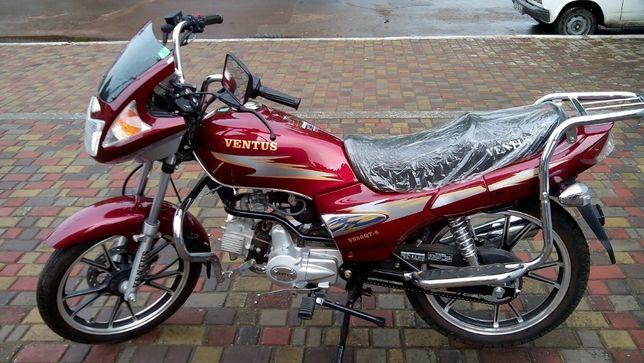 Мотоцикл Ventus 110 см3 (Alpha (Альфа)). Новый! Увеличенная рама!
