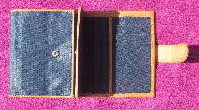 Carteira porta-moedas de bolso unisexo da Benetton