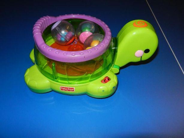 Żółwik interaktywny Fisher Price jak nowy!