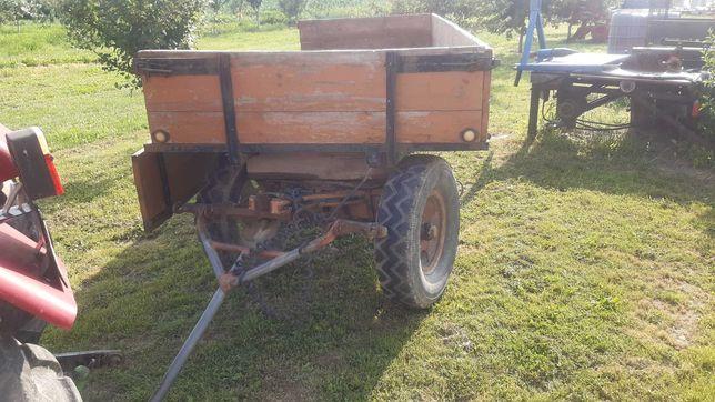 Przyczepka do traktora, wóz
