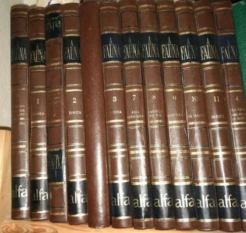 Enciclopédias alfa (história do mundo e a fauna)