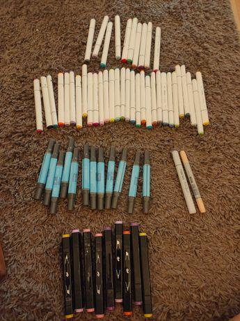 Conjunto marcadores à base de álcool para desenho
