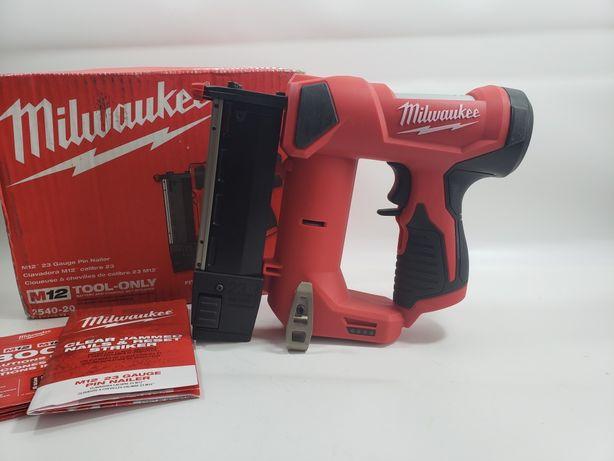 Milwaukee M12 2540-20 Акумуляторний штіфтозабивний нейлер 23Ga 13-35мм