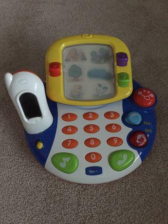 Chicco video telefon zabawka interaktywna