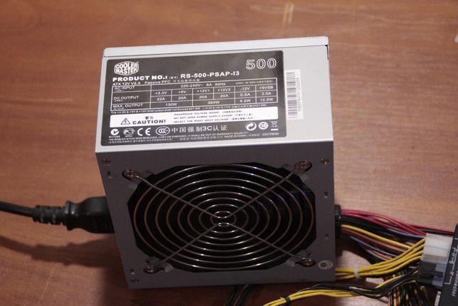 Cooler Master RS-500-PSAP-I3 500w p4, 24pin+8pin+6pin, w/Sata, ATX, EP