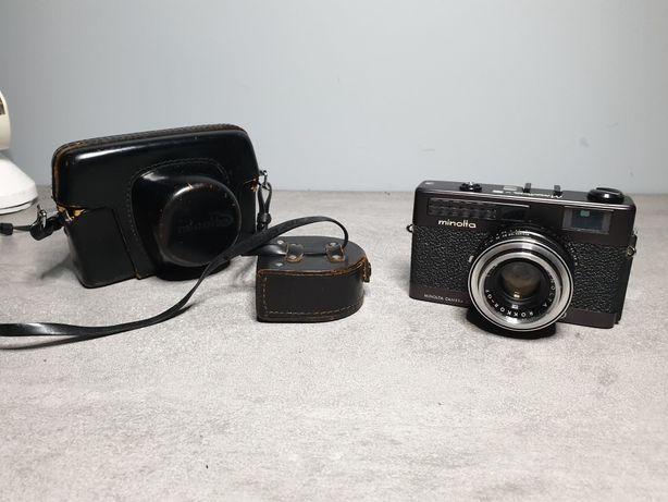 Minolta Minoltina S 40mm f/1.8 - świetny aparat analogowy, dalmierz
