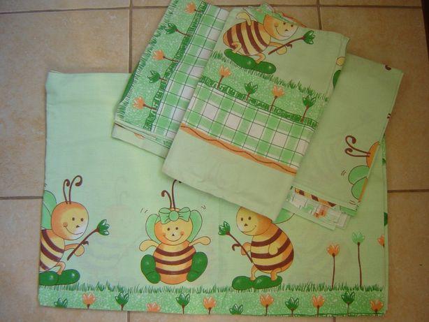 Защита(на кроватку 4е),Постельное белье(3ед.), Подушка и одеяло