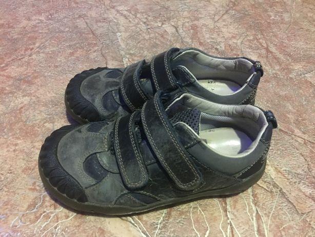 Кожаные туфли-мокасины Clark's, 28р