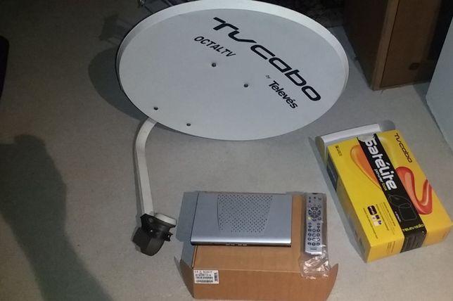 TELEVÉS Antena Parabólica + Powerbox